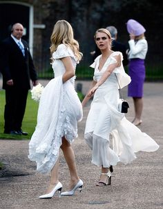 they kinda annoy me but obvs love a white bridesmaid dress