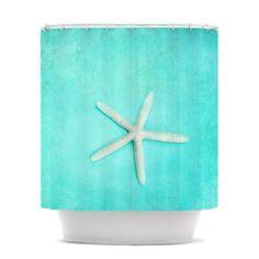 "Sylvia Cook ""Starfish"" Shower Curtain | KESS InHouse"