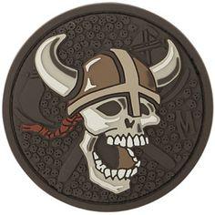 3D Morale Patch - Viking Skull. Shop at www.Maxpedition.com