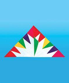 Rainbow Burst 1 Delta Kite #zulily #zulilyfinds
