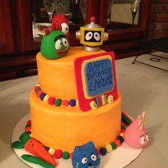 Yo GABA GABA cake