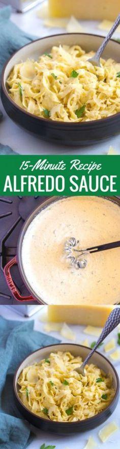 Homemade Alfredo Sau