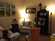 Counseling office at Kingwood Counseling and Play Therapy in Kingwood, TX. www.kimscounseling.com