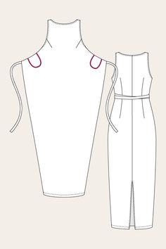 Pattern Review: The Kielo Wrap Dress (met zakjes !!!!!)