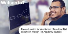 Offering free access to #WatsonIoT Platform for global clients, developers &startups to explore new #IoT innovations http://ibm.biz/BdsZ9D