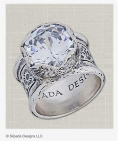 Love this ring, and you will too. It truly makes a statement! I sell Silpada sterling silver jewelry. #SilverJewelry