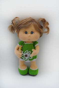 Crochet dolly. (Inspiration).