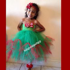 Elf tutu on Etsy, $80.00