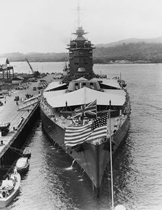 HMS Nelson traversing the Panama Canal 1931.