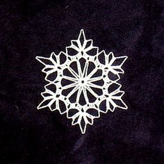 Ravelry: Triple Crochet Snowflake (archive) pattern by SAG55
