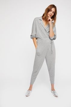 ea6d489910 FP Beach Grey Jay Jay Jumpsuit at Free People Clothing Boutique Everyday  Outfits