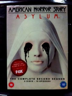 American Horror Story ASYLUM. Complete 2nd Season. 4 Discs. 13 Episodes. Sealed.