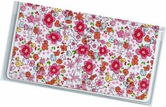 Checkbook Cover  Sara Jane floral duplicate by rabbitholeonline, $6.25