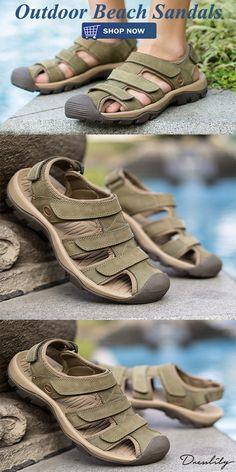 Extra off Cheap Mens Shoes, Mens Shoes Sale, Beach Sandals, Shoe Sale, Men's Accessories, Shoe Box, Leather Men, Men's Shoes, Camping