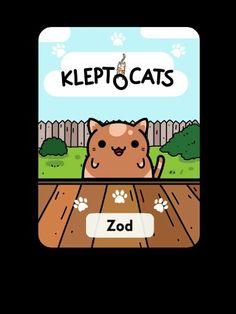 Har fået en ny kat i spillet kleptocats