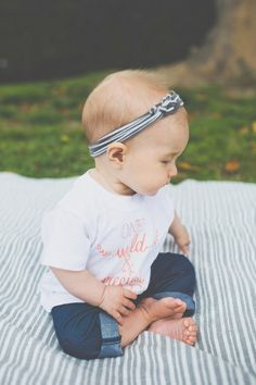 One Wild and Precious Life Baby Tee by PrintedPalette on Etsy, $26.00