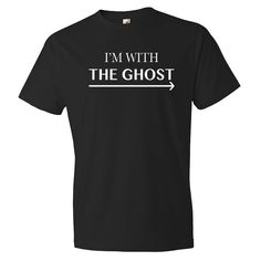 Funny Halloween Shirt I'm With The Ghost Shirt Funny Ghost