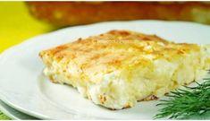 Easy Greek yogurt and feta cheese pie (Tempelopita) Feta Cheese Recipes, Cheese Pies, Easy Cheese, Appetizer Recipes, Greek Pita, Greek Yogurt, Greek Cheese, Greek Dishes, Side Dishes
