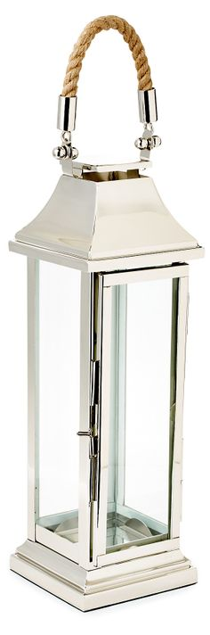 "One Kings Lane - Romance by the Sea - 22"" Portico Lantern"
