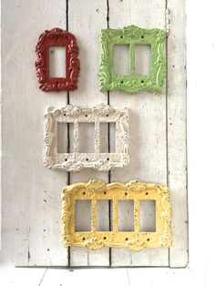 Add These Lovely Ornate Switch Plates To Your Home Shabby Chic Style And Hand