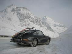 Alpine Porsche 911