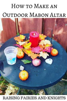 How to make an Outdoor Mabon Altar - Want a fun & easy way to include your…