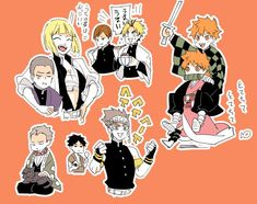 Kageyama X Hinata, Haikyuu Karasuno, Haikyuu Funny, Haikyuu Fanart, Haikyuu Anime, Anime Crossover, Best Crossover, All Anime, Me Me Me Anime