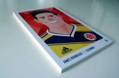 SCHIAFFO / SLAP  Fifa Worldcup Brasil 2014 by Riccardo Rosa, via Behance