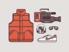 Marty McFly Gear, 1985 - Back to the Future - Ryan Putnam