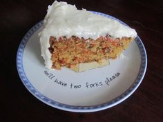 This Free Bird – Carrot Cake With Cream Cheese Frosting (Gluten-Free Version)