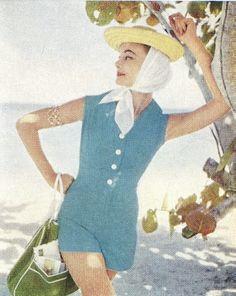 fun in the sun - 1950s