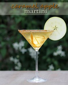 Caramel Apple Martini...yum. #flavor #pinnacle