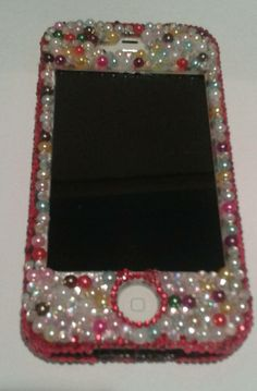 Iphone 4 blinged case.