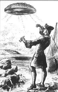 Illustration From Gulliver's Travels 1732