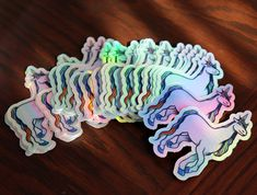 Rainbow Unicorn Sticker | LacyMoon Unicorn Art, Rainbow Unicorn, Triple Moon Goddess, Pagan Art, Unicorn Stickers, Rosie The Riveter, Cute Stickers, Holographic, Coloring Pages