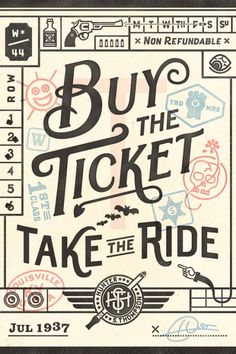 Hunter Thompson - Buy the Ticket. Take the Ride.