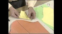 Puntos y Puntadas 297. Técnica Rápida de la Manga Raglan. Moldería. migel a, seijas