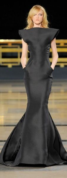 Way cool... but, even the lottery doesn't give me a time I'd wear it. Simple beautiful... fashion by Stephane Rolland