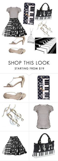 """""""Piano"""" by lizzy-pianist ❤ liked on Polyvore featuring Lucia Del Piano, Dolce&Gabbana, Frame, Ashley M and Journee Collection"""