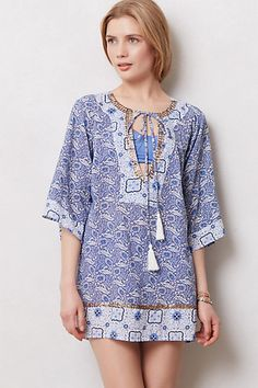Perfect little boho coverup for the beach house