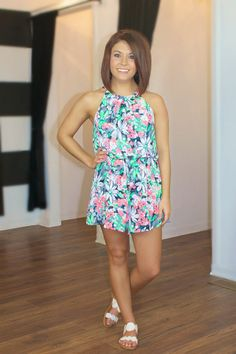 Make An Impression Romper at Juliana's Boutique- shopjulianas.com Save 10% w/code: lstf10
