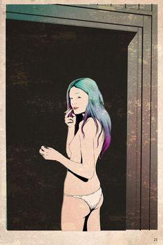 The Girl #illustration