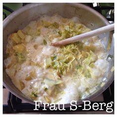 Frau S-Berg: Spitzkohlpfanne