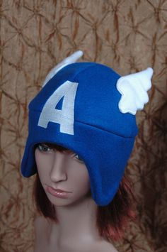 Marvel Superhero: Captain America. $25.00, via Etsy.