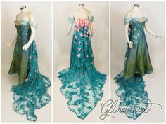 I was mesmerized by this gown when I saw it Monday in an advertisement for Frozen Fever. I immediately did inventory of my fabric wall and put the idea . Elsa's Spring Dress Cosplay from Frozen Fever Disney Princess Dresses, Disney Dresses, Prom Dresses, Bridesmaid Dresses, Elsa Cosplay, Elsa Dress, Dress Up, Halloween Wedding Dresses, Frozen Wedding Dress