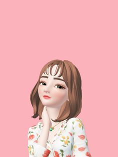 #zepeto Anime Girl Drawings, Girly Drawings, Anime Art Girl, Cute Emoji Wallpaper, Cute Cartoon Wallpapers, Girl Cartoon, Cartoon Art, Korea Wallpaper, Fairy Paintings