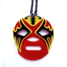 New colour Lucha Libre Mexican Wrestling Mask Necklace
