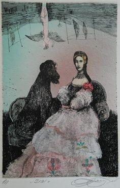 Nabídka děl - Vavrová Katarína | IKAROS Galerie Antik