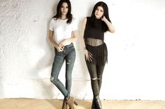 Kendall and Kylie Pre-Fall 2015 PacSun Collection   Teen Vogue