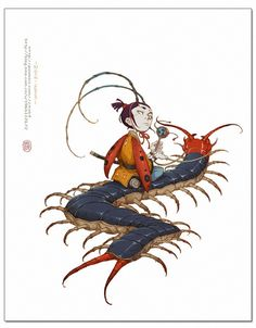 Yi Wang [website down] Character Design Animation, Character Design References, Character Concept, Character Art, Concept Art, Character Illustration, Illustration Art, Character Design Inspiration, Creature Design